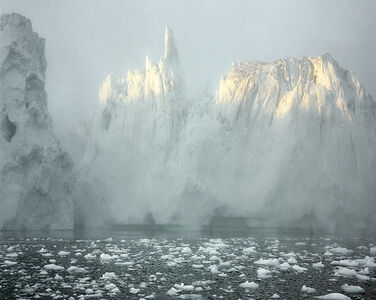 "Ilulissat Icefjord 6, 07/2003 69° 11'58"" N, 51° 07'08"" W"