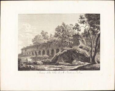Avanzi della Villa di M. Bruto a Tivoli
