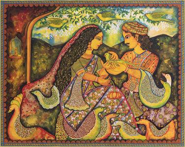 Draupadi and Sahdev