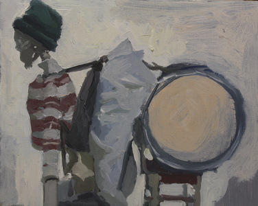Studio Skeleton as Peter in Green Hat