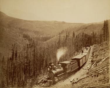 Marshall Pass, Westside