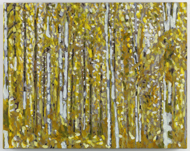 Untitled (Yellow Trees)
