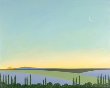 Twilight in Provence