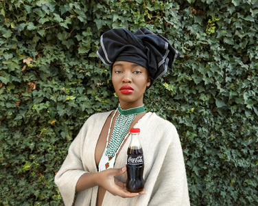 Black Coca-Cola Series - Xhosa woman