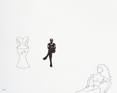 Untitled with Zaramo Figure