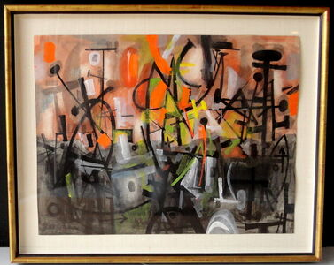 Abstract Harbor Scene (Provincetown)