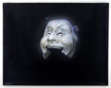 Idiot's mask (Adolfo Wildt)