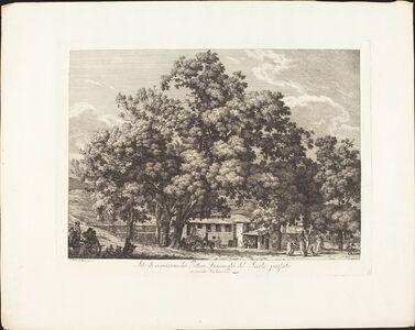 Sito di ricreazione dei Pittori Fiaminchi del Secolo passato a Monte Testaccio
