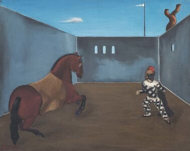 Untitled (Horse and Pierrot)