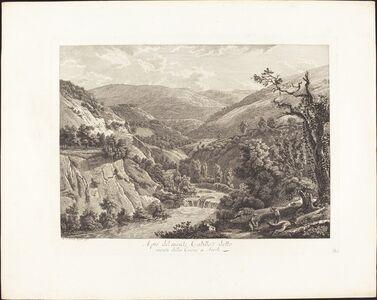 Al pié del monte Catillo, detto monte della Croce a Tivoli