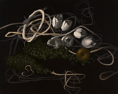 Still Life with Tulip Chain