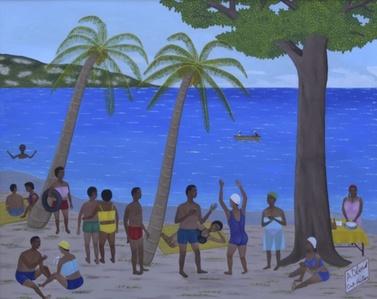 Sur la Plage/One the Beach