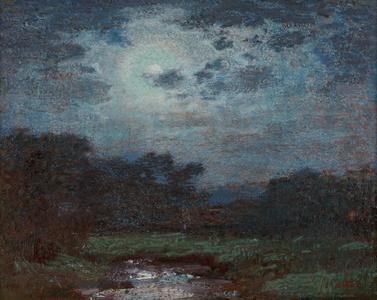 Moonlit Scene (Ring Around the Moon)