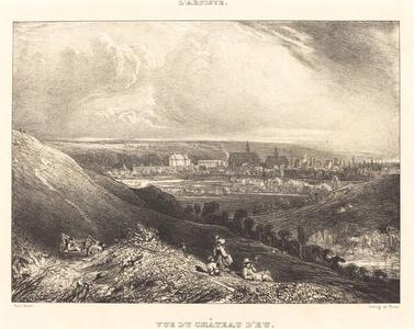 View of the Chateau d'Eu (Vue du Chateau d'Eu)