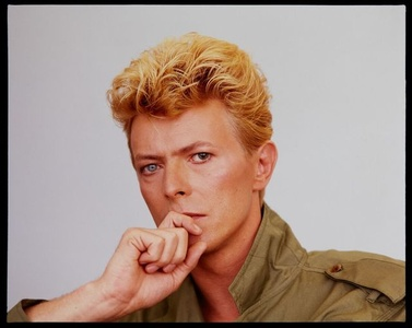 David Bowie Listens To Tony McGee's Story, McGee Studio's London
