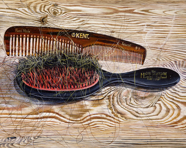 Untitled (hairbrush & comb)