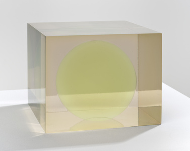 Cube with Green Sphere