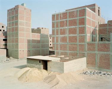 Construction along Ring Road; Maryouteya, Cairo