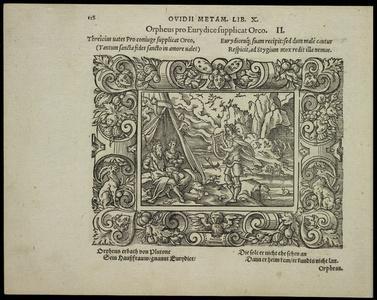 Orpheus pro Eurydice supplicat Orco