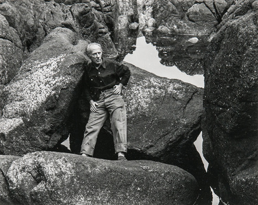 Portrait of Edward Weston
