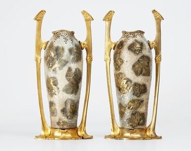 Pair of Jugendstil Vases
