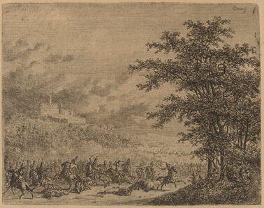 The Affair near Konigstein  (L'Affaire pres de Koenigstein) [recto]