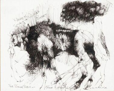 Study of Wildebeest
