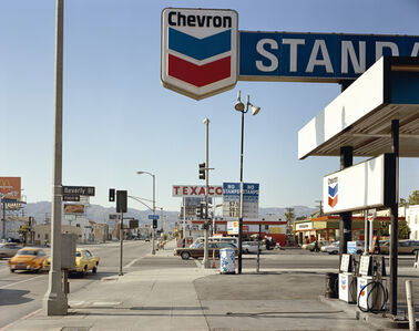 Beverly Boulevard and La Brea Avenue, Los Angeles, California, June 21, 1975