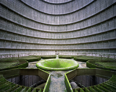 Cooling Tower, Power Station, Monceau-sur-Sambre, Belgium
