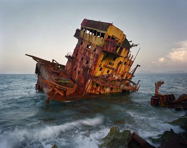 Shipwreck, Jibarra, Cuba