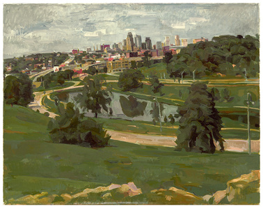 Kansas City, View from Penn Valley Park
