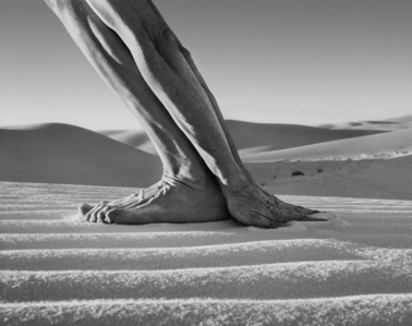 Hands and Feet, White Sands