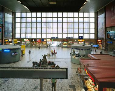 Südbahnhof Wien, Architekt Heinrich Hrdlicka