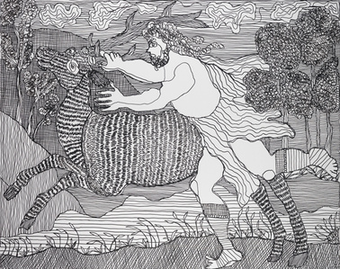 Hercules and the Hind of Mount Cerynea