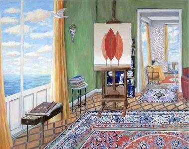 Magritte's Studio, 1963