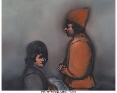Dos Figuras/ Alfredo de la Carpa
