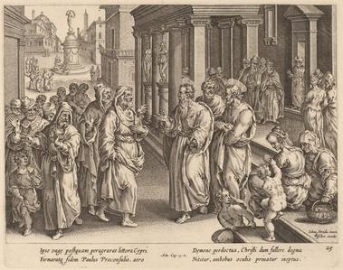 Saint Paul Disputes the Sorcerer