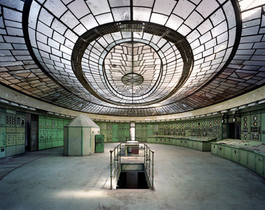 Control Room, Kelenfold Power Station, Budapest, Hungary