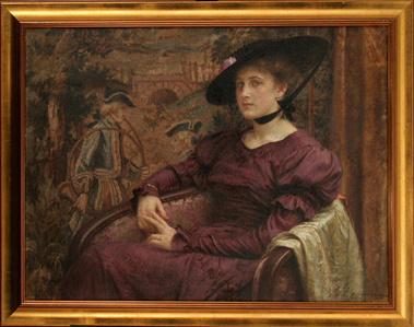Jelica à la Gainsborough