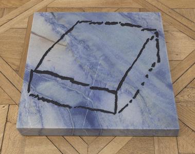Cube paléolithique 'Azul Bahia (1)'