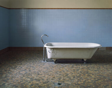 Patient Bathtub, Fairfield State Hospital,  Newtown, CT