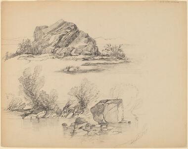Rocks Along a Lakeshore [recto]