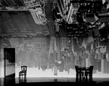 Camera Obscura: Manhattan View Looking South in Large Room