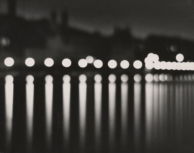 Stockholm (at night with circular lights)