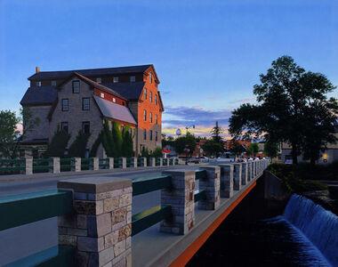 Cederburg Mill Sunset