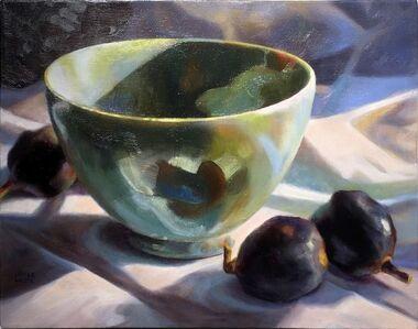 """""""Green Bowl, Black Figs"""""""