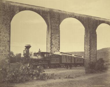 Old Aqueduct at Querétaro, Mexico