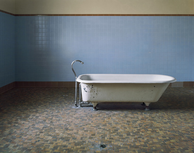 Patient Bathtub, Fairfield State Hospital,  Newtown, Connecticut
