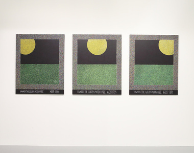 Towards the Golden Moon Hare (triptych)