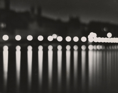 Stockholm (at night with circular lights)